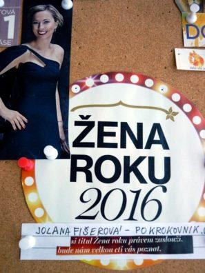 Žena roku 2016 úspěch